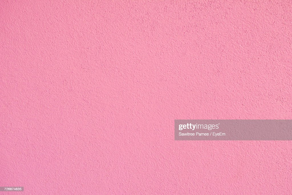 Full Frame Shot Of Pink Wall : Stock Photo