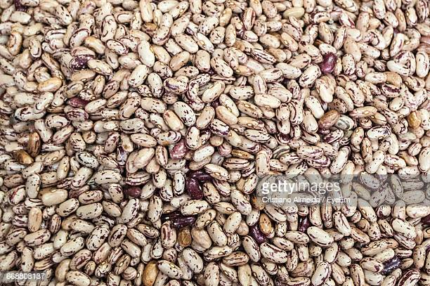 full frame shot of pinto beans - pinto bean stock photos and pictures