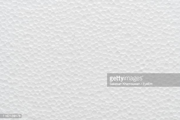 full frame shot of polystyrene - polystyrene stock pictures, royalty-free photos & images