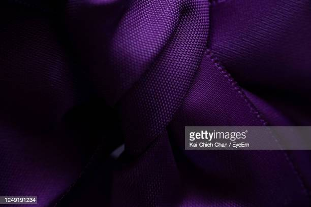 full frame shot of purple fabric - silk stock pictures, royalty-free photos & images