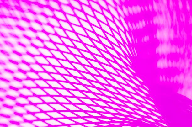 Full frame shot of purple plastic netting