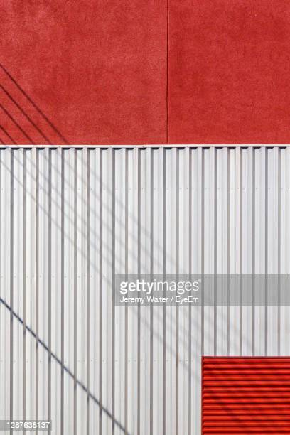 full frame shot of red and white building - eyeem jeremy walter stock pictures, royalty-free photos & images