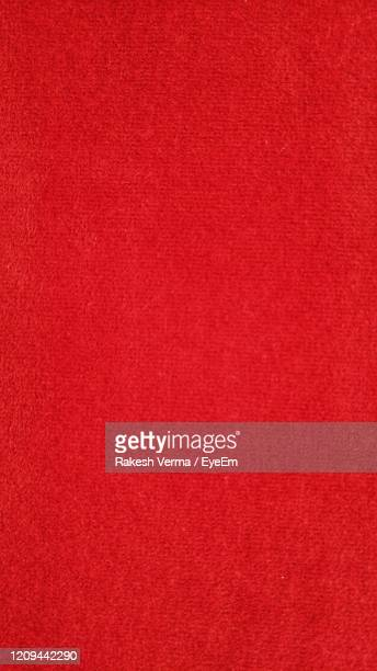 full frame shot of red background - felt textile stock pictures, royalty-free photos & images