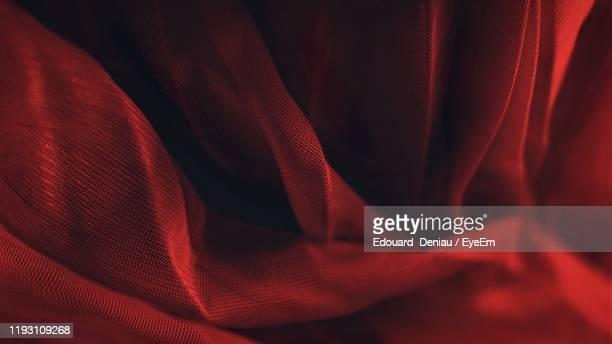 full frame shot of red curtain - veil stock pictures, royalty-free photos & images