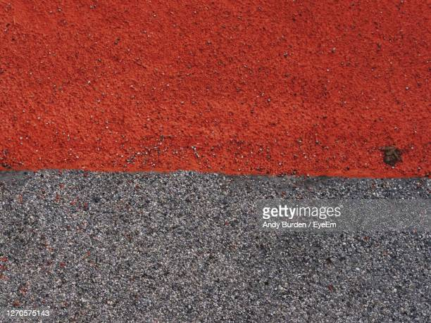 full frame shot of red road - malton stock pictures, royalty-free photos & images