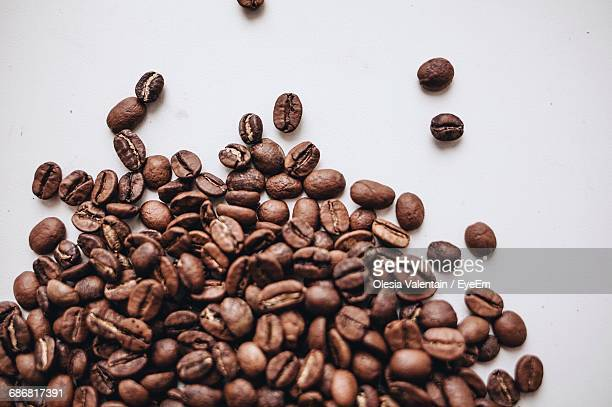 Full Frame Shot Of Roasted Coffee Beans