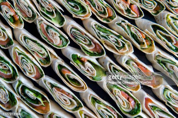 full frame shot of rolls - cetkauskas stock pictures, royalty-free photos & images