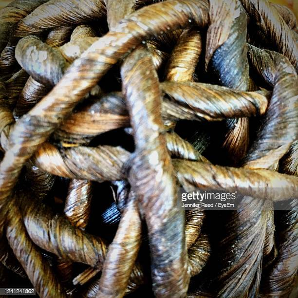 full frame shot of ropes - jennifer reed stock pictures, royalty-free photos & images