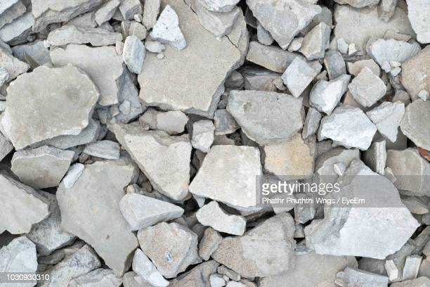 full frame shot of rubble - rubble stock pictures, royalty-free photos & images