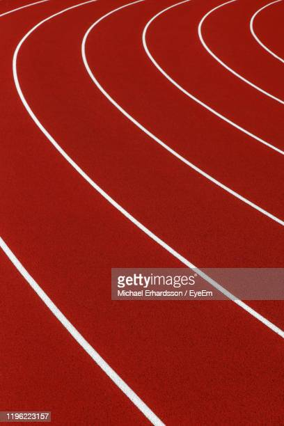 full frame shot of running track - vaxjo stock pictures, royalty-free photos & images