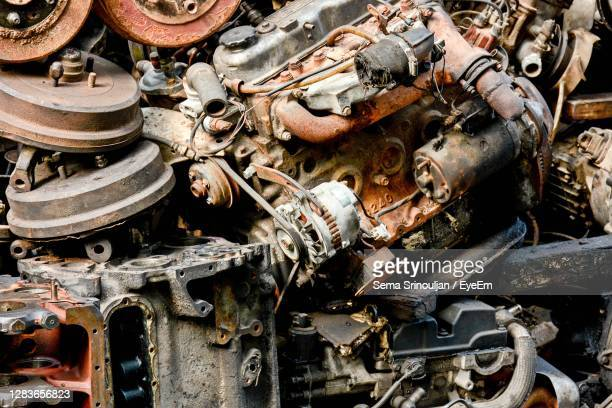 full frame shot of rusty machine - weathered stock pictures, royalty-free photos & images