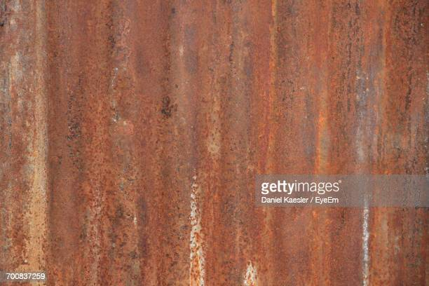 Full Frame Shot Of Rusty Metal