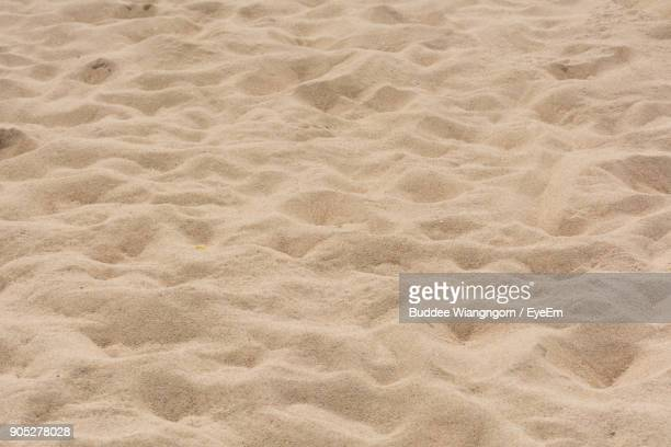 full frame shot of sand - areia - fotografias e filmes do acervo