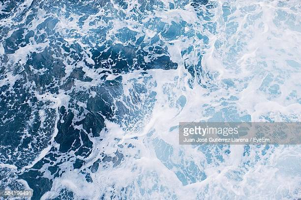 Full Frame Shot Of Sea Water Surf