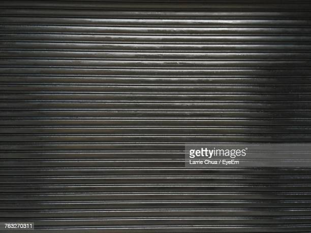 full frame shot of shutter - corrugated iron stock photos and pictures