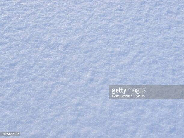 Full Frame Shot Of Snow Covered Field