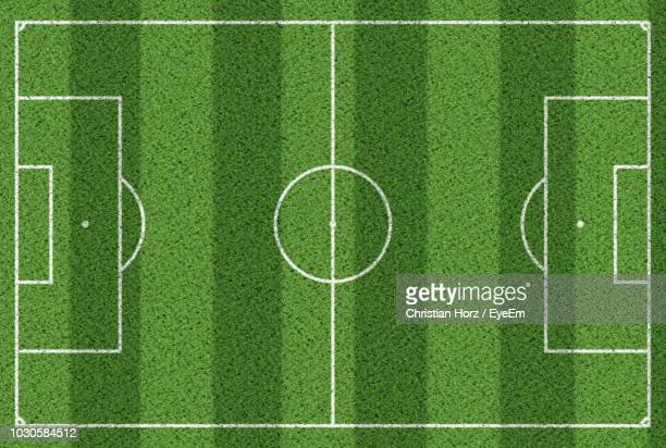 full frame shot of soccer field - soccer field stock pictures, royalty-free photos & images