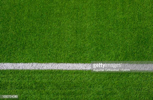 full frame shot of soccer field - grass stock pictures, royalty-free photos & images