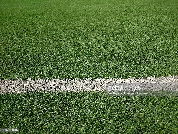 Full Frame Shot Of Soccer Field