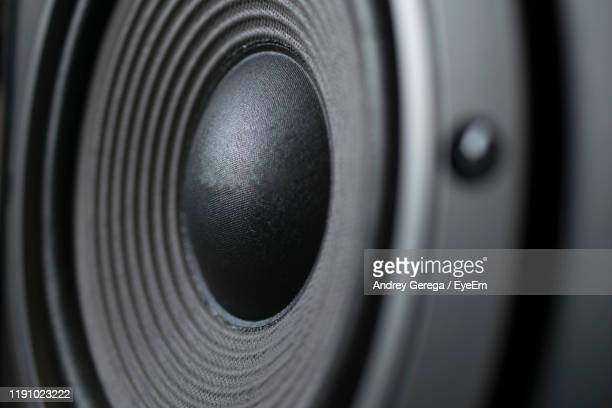 full frame shot of speaker - amplifier stock pictures, royalty-free photos & images