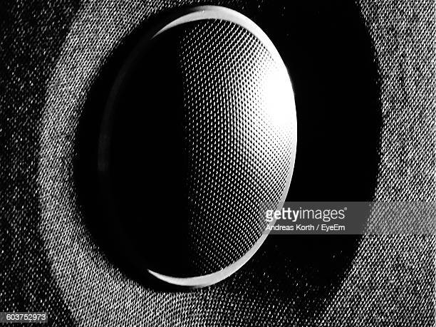Full Frame Shot Of Speaker