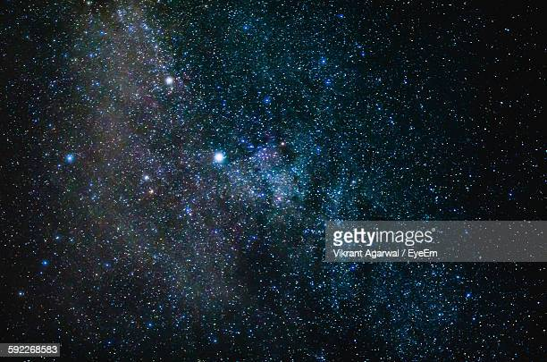 full frame shot of star field - star field stock pictures, royalty-free photos & images