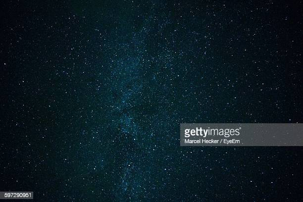 full frame shot of star field - star field stock photos and pictures