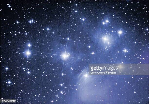 full frame shot of star field - glowing stock pictures, royalty-free photos & images