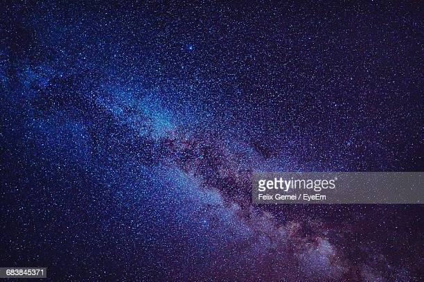 full frame shot of star field - costellazione foto e immagini stock