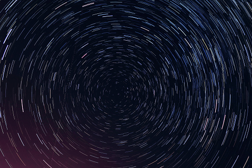 Full Frame Shot Of Star Trail - gettyimageskorea
