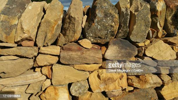 full frame shot of stone wall - mcgregor stock pictures, royalty-free photos & images