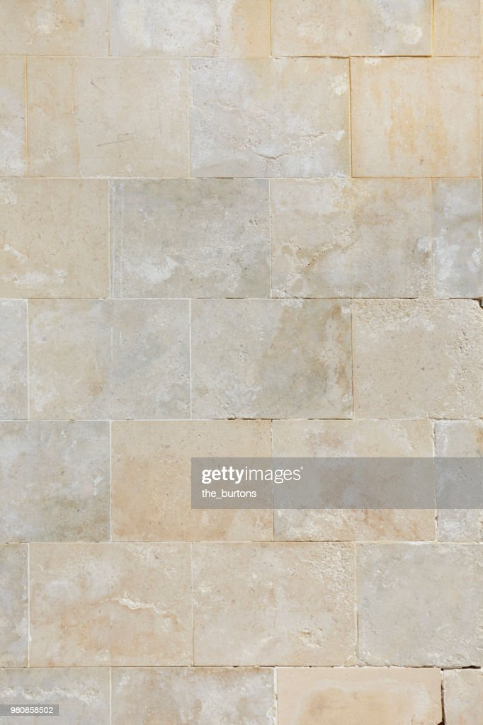 Full frame shot of stone wall : Stock Photo