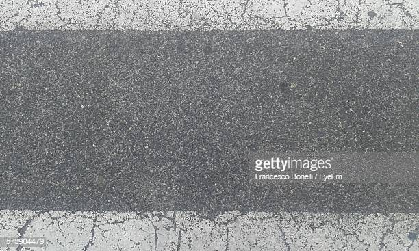 Full Frame Shot Of Street With Markings