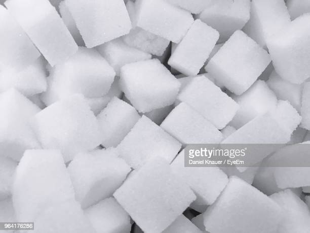 full frame shot of sugar cube - sugar pile stock pictures, royalty-free photos & images