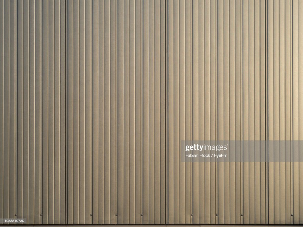 Full Frame Shot Of Textured Metal Wall : Stock Photo