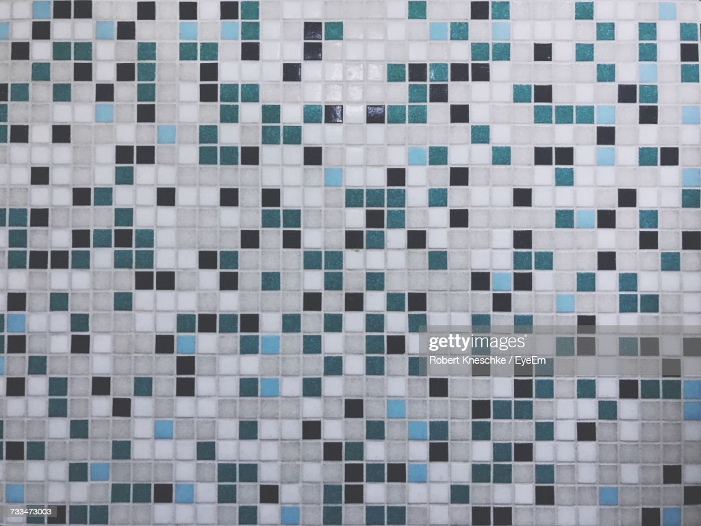 Full Frame Shot Of Tiled Wall Stock Photo | Getty Images