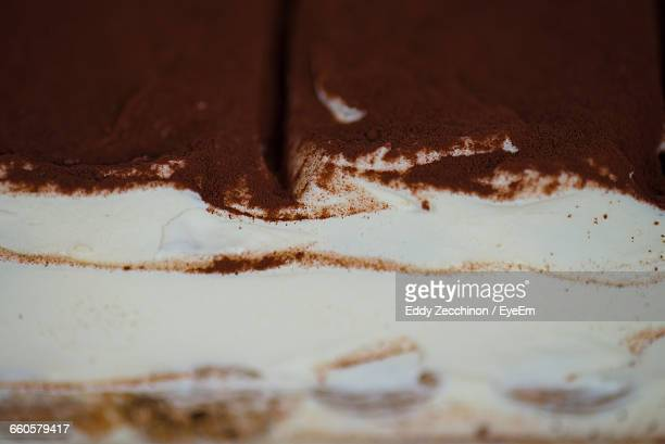Full Frame Shot Of Tiramisu