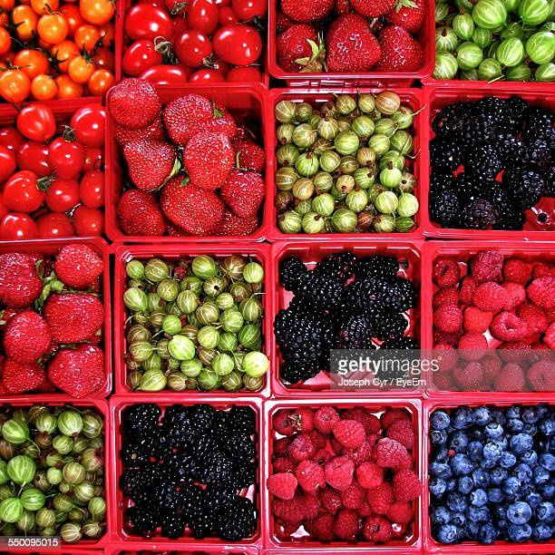 Full Frame Shot Of Various Fruits And Vegetables