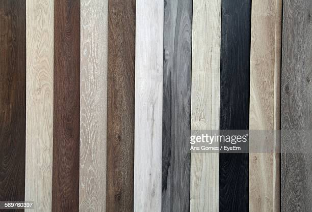 Full Frame Shot Of Various Wooden Planks