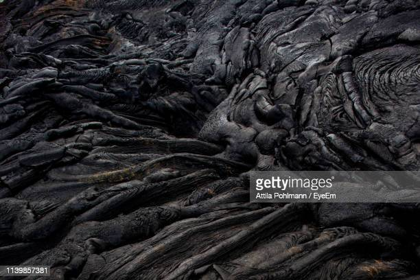 full frame shot of volcanic landscape - lava stock pictures, royalty-free photos & images