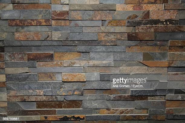 full frame shot of wall at home - stone wall stock pictures, royalty-free photos & images