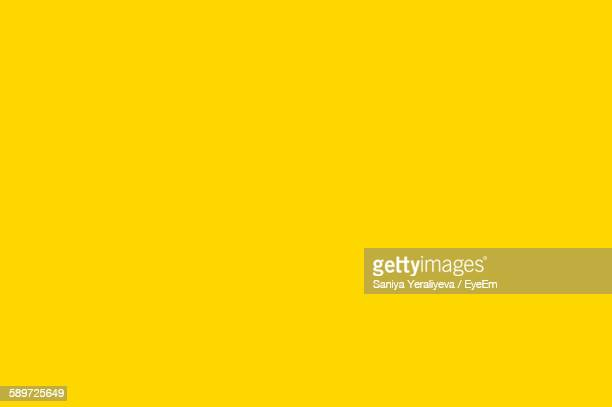 Full Frame Shot Of Wall With Yellow Paint