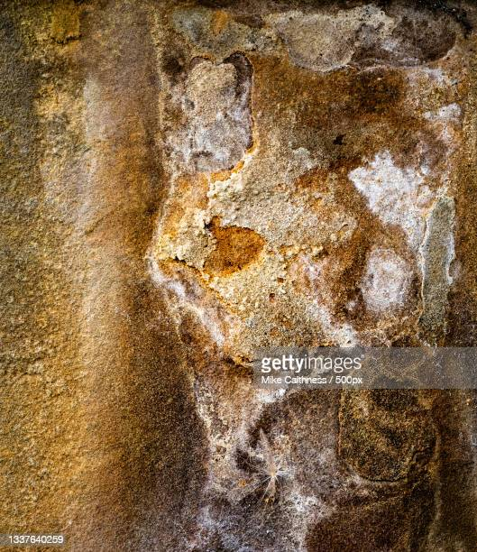 full frame shot of weathered wall,edinburgh,united kingdom,uk - mike caithness stock pictures, royalty-free photos & images