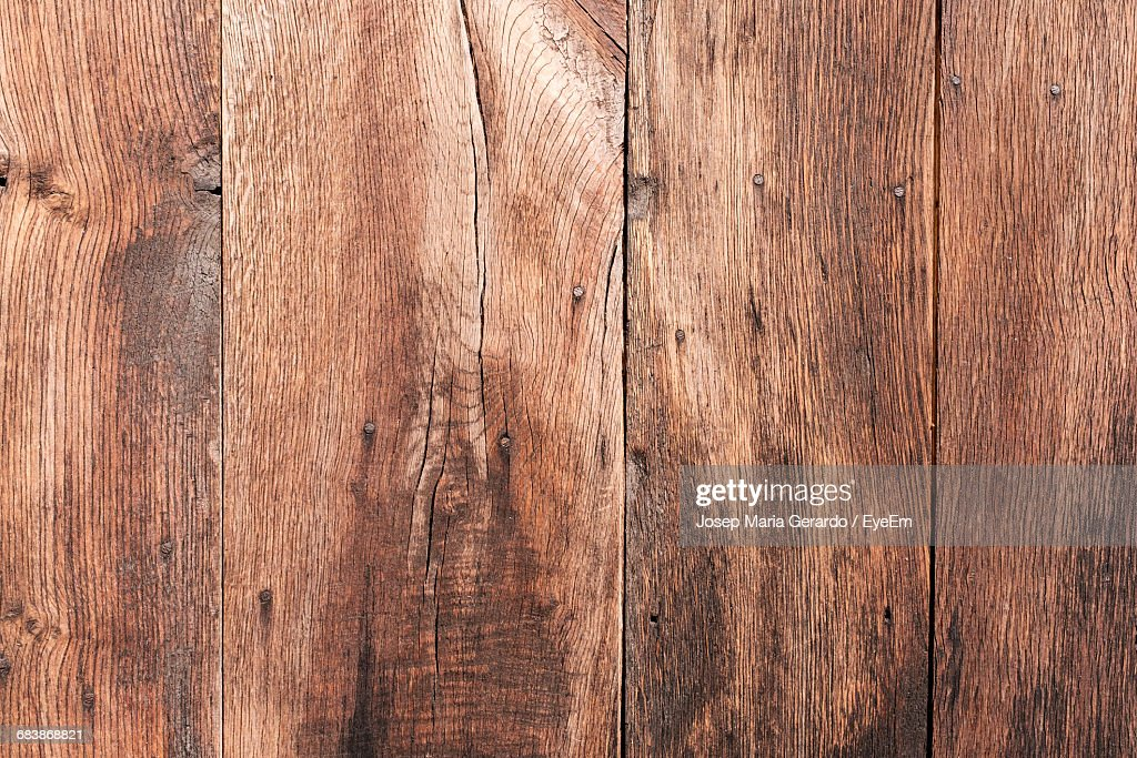 Full Frame Shot Of Weathered Wood : Stock Photo