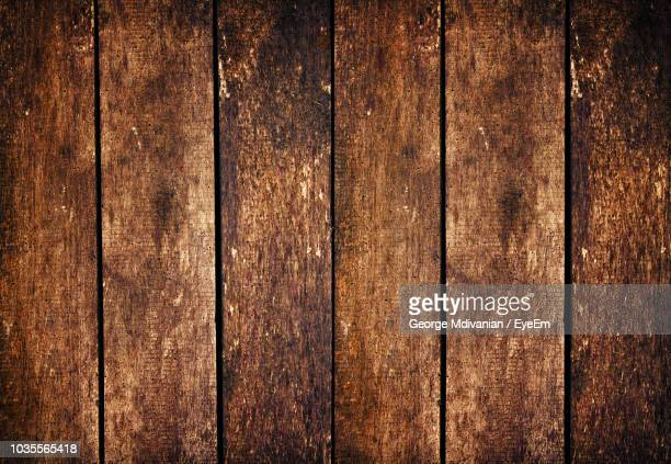 full frame shot of weathered wooden wall - george wood stock pictures, royalty-free photos & images