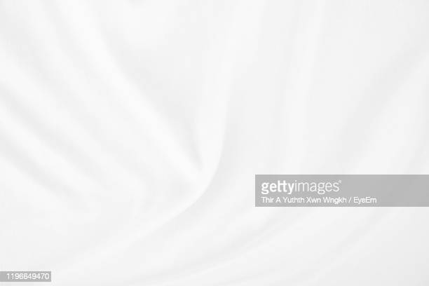 full frame shot of white satin - satin stock pictures, royalty-free photos & images