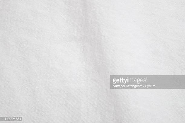 full frame shot of white textile - textile stock pictures, royalty-free photos & images