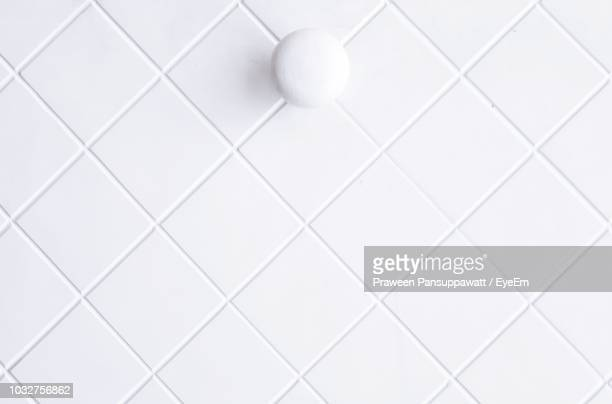 full frame shot of white wall - tile stock photos and pictures