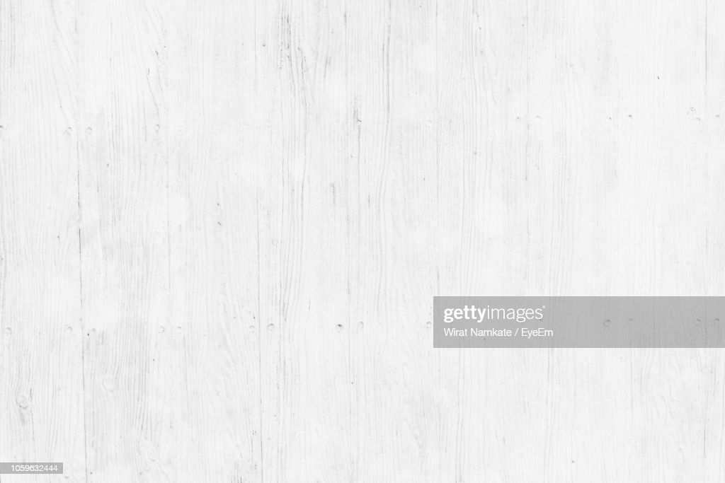 Full Frame Shot Of White Wood : Stock Photo