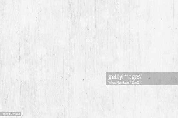 full frame shot of white wood - plank timber stock photos and pictures